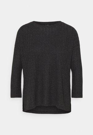 VMTILDA LOOSE - Jersey de punto - dark grey melange