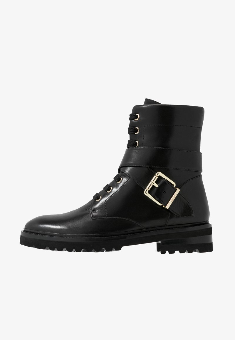 Steffen Schraut - CHAIN ROAD - Lace-up ankle boots - black