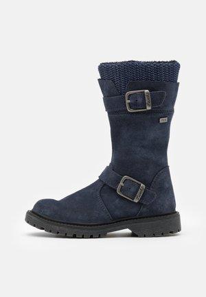 XINA TEX - Boots - navy