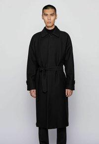 BOSS - GIBOR1 - Classic coat - black - 0