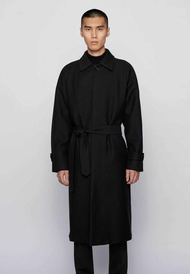 BOSS - GIBOR1 - Classic coat - black