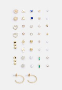Pieces - PCQUYEN EARSTUDS KEY 20 PACK - Øredobber - gold-coloured - 0