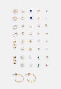 PCQUYEN EARSTUDS KEY 20 PACK - Kolczyki - gold-coloured