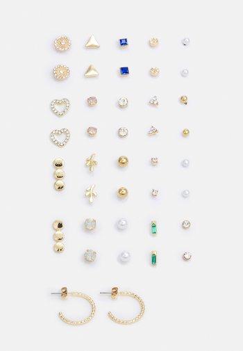 PCQUYEN EARSTUDS KEY 20 PACK - Earrings - gold-coloured