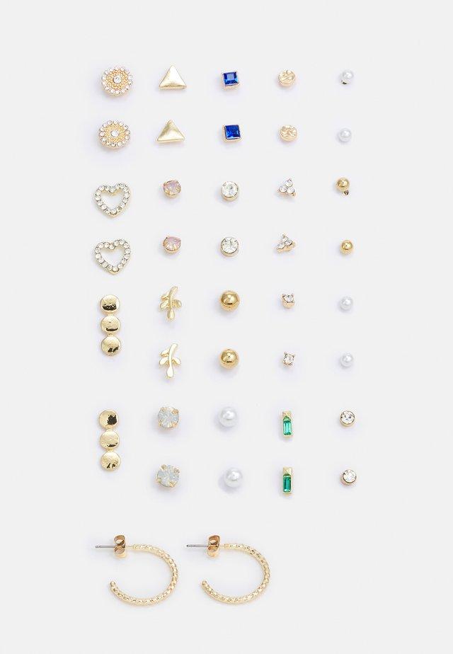 PCQUYEN EARSTUDS KEY 20 PACK - Pendientes - gold-coloured