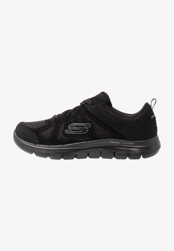 WIDE FIT FLEX APPEAL  - Sneakers laag - black