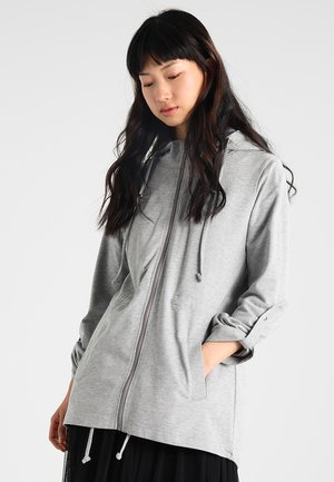 LADIES TERRY  - Zip-up hoodie - grey