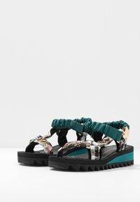 Kurt Geiger London - ORION - Wedge sandals - multicolor - 4