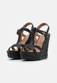 Pura Lopez - Sandály na platformě - black - 2
