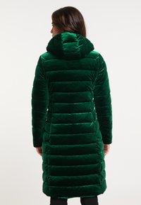 faina - Winter coat - smaragd - 2
