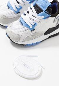 adidas Originals - NITE JOGGER - Slip-ons - footwear white/real blue - 6