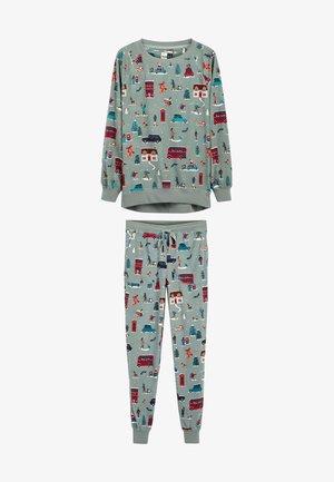 SET - Pyjama set - green