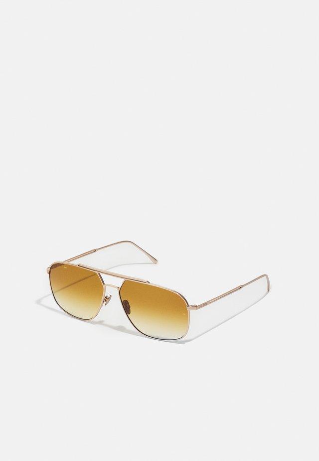 UNISEX - Lunettes de soleil - matte gold-coloured