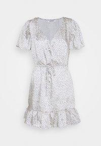 Glamorous - SLEEVE MINI DRESS - Vestito estivo - grey - 0