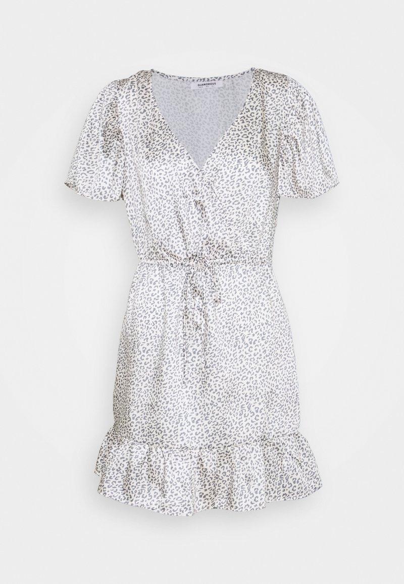 Glamorous - SLEEVE MINI DRESS - Vestito estivo - grey