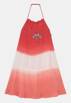 PARICE - Day dress - coral pink