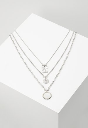 CHARM MULTIROW - Necklace - silver-coloured