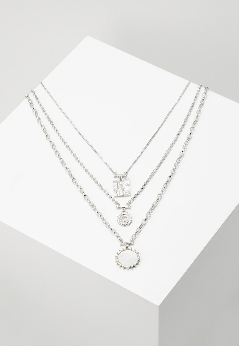 LIARS & LOVERS - CHARM MULTIROW - Necklace - silver-coloured