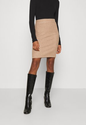 VIHAUDI SKIRT - Pencil skirt - camel