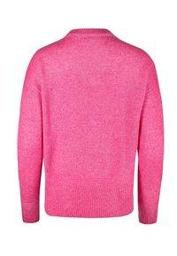 Oliver Bonas - STITCH DETAIL  - Jumper - pink - 1