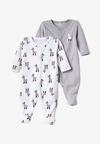 Name it - NBNNIGHTSUIT 2PACK - Pyjama - bright white - 5