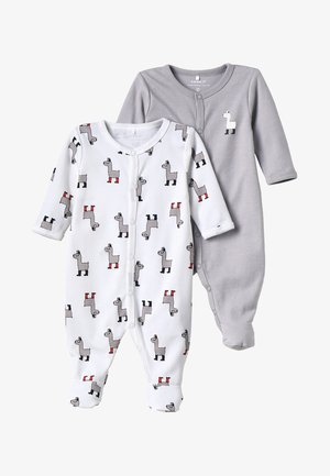 NBNNIGHTSUIT 2PACK - Pyjamas - bright white