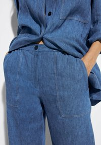 Massimo Dutti - Trousers - blue - 1