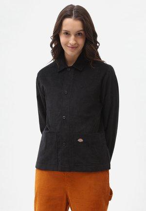 HIGGINSON  - Button-down blouse - black