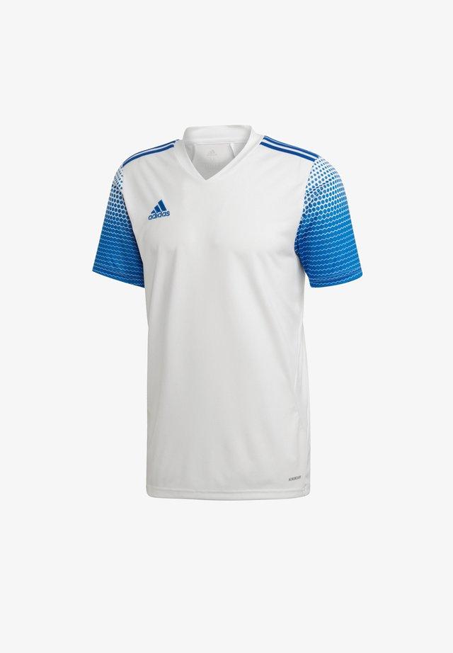 T-Shirt basic - weissblau