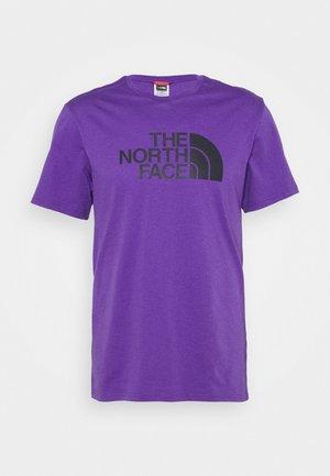 EASY TEE - Print T-shirt - peak purple