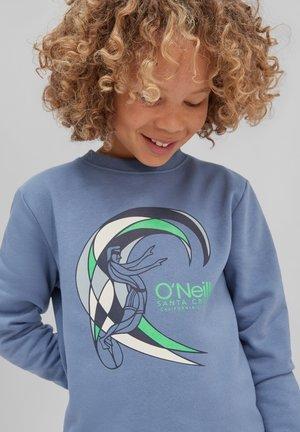 CIRCLE SURFER CREW - Sweatshirt - walton blue