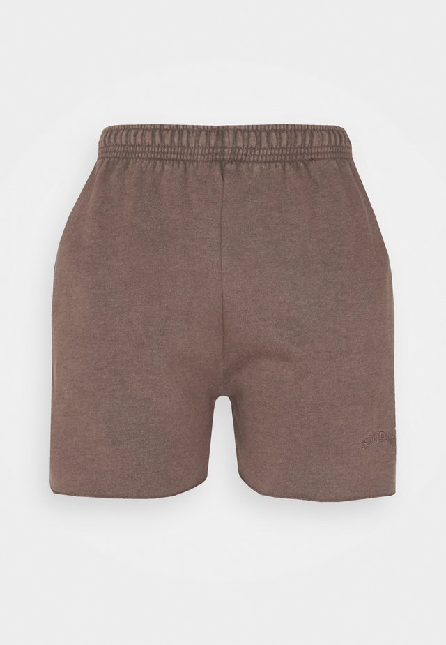 JOGGER - Shorts - chocolate