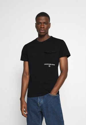 INSTIT UTILITY POCKET TEE - Basic T-shirt - black