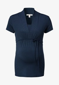 Esprit Maternity - NURSING - Print T-shirt - night blue - 6