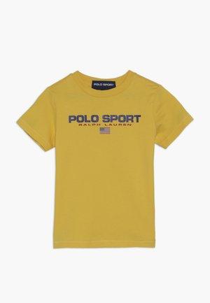 T-Shirt print - chrome yellow