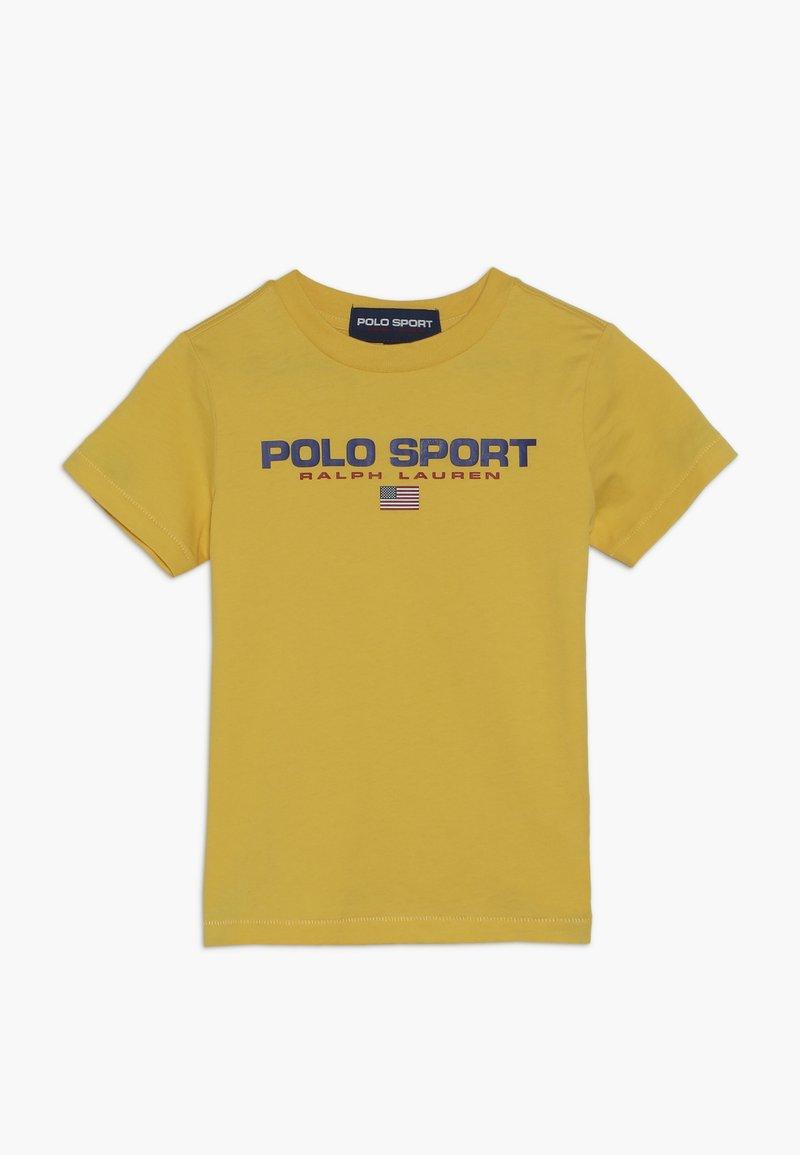 Polo Ralph Lauren - T-shirt med print - chrome yellow