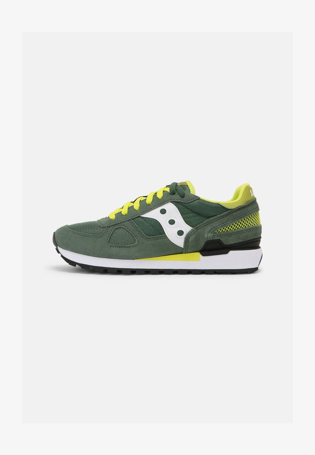SHADOW ORIGINAL UNISEX - Sneakers laag - green/white/yellow