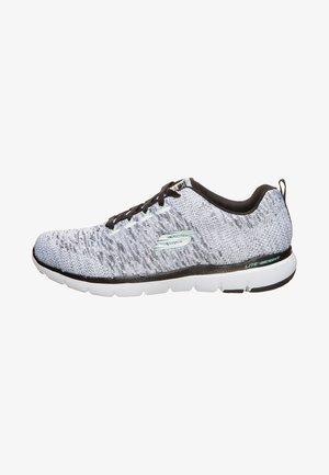 FLEX APPEAL 3.0 - Zapatillas - white/black knit mesh/ligth aqua trim