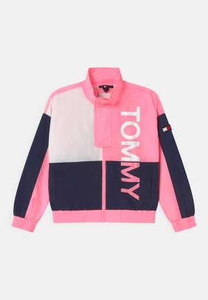 BOLD UNISEX - Chaqueta de entrenamiento - cotton candy/twilight navy