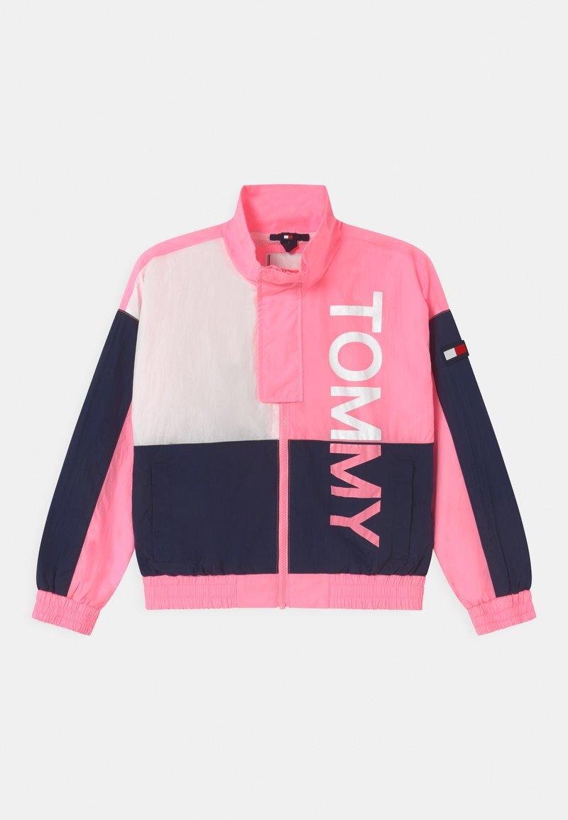 Tommy Hilfiger - BOLD UNISEX - Training jacket - cotton candy/twilight navy