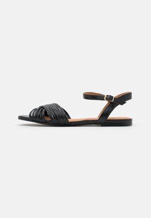 BIADELORA THIN STRAP  - Sandały - black