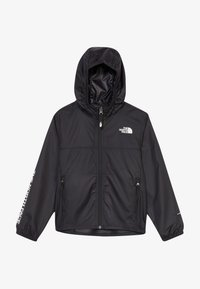 The North Face - YOUTH REACTOR - Windbreaker - black/white - 4