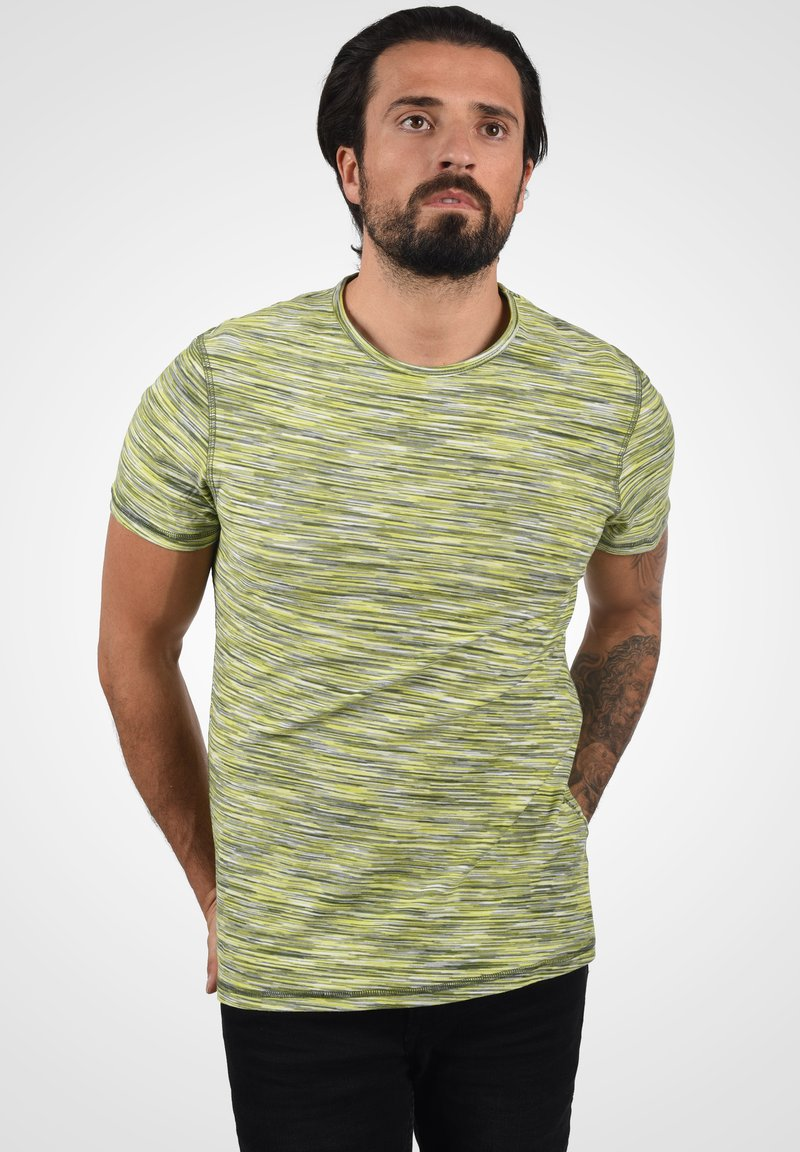 Blend - T-shirt con stampa - forest green