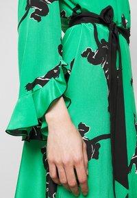 Diane von Furstenberg - SERENA DRESS - Vapaa-ajan mekko - green - 6