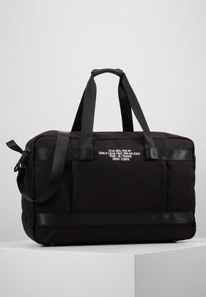 URBHANITY SOLIGO TRAVEL BAG - Weekend bag - black