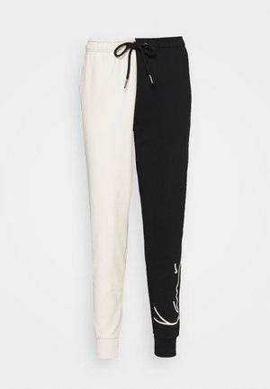 SIGNATURE BLOCK - Teplákové kalhoty - off white