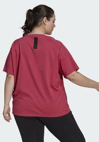 adidas Performance - W TE TEE PB - T-shirts - pink - 1