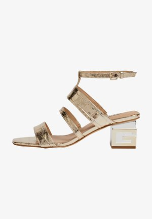 Sandały - silber