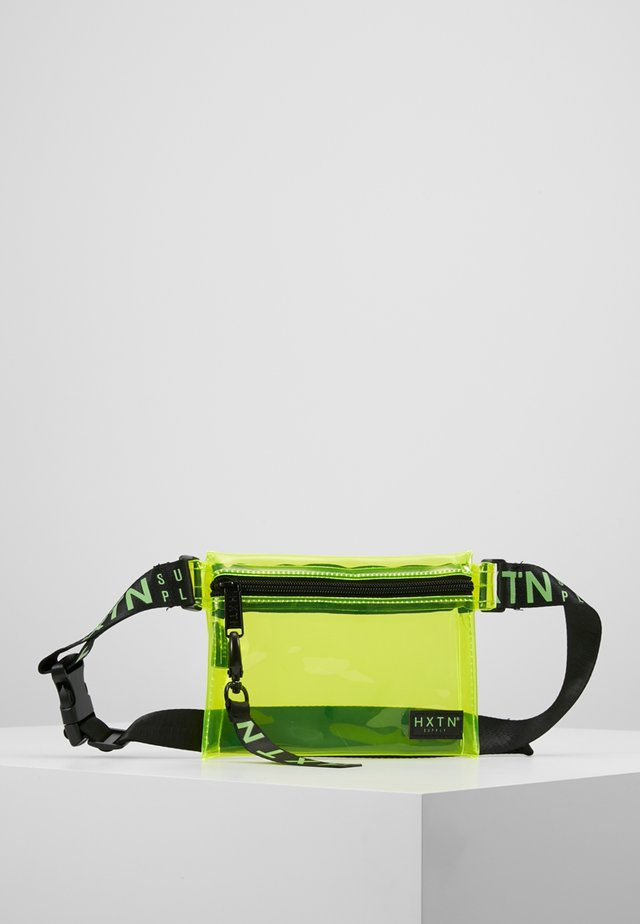 PRIME CROSSBODY UNISEX - Olkalaukku - optic lime