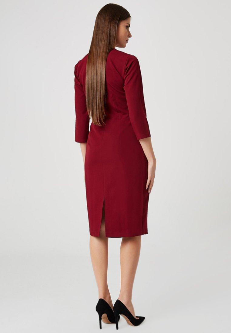 Discount Women's Clothing usha Shift dress bordeaux DH6c53SHJ